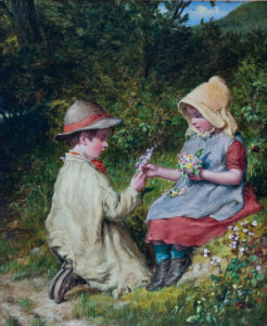'Gathering Wild Flowers'
