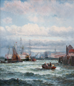 'Fresh Breeze off Whitby'