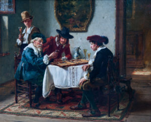 'A Game of Backgammon'