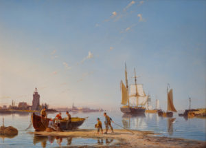 'The Isle of Tholen, on the River Scheldt'