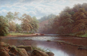 'Scar from the Wharfe, Bolton Abbey'