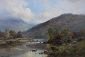 'The Dee near Balmoral'