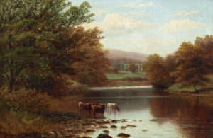 'Bolton Abbey on the Wharfe, Yorkshire'