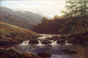 'On the Rothay near Grasmere, Westmorland'