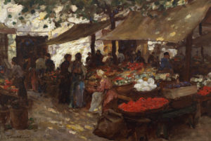 'The Flower Market, Fiume