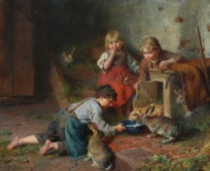 'The Pet Rabbits'