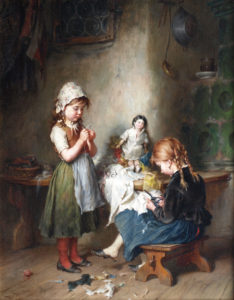 'The little Seamstress'