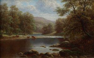 'On The Wharfe, Bolton Woods'