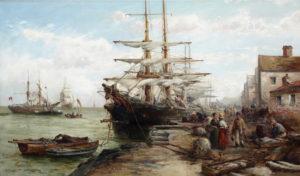 'Peel Harbour, Isle of Man'