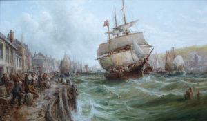 'Douglas Harbour, Isle of Man'