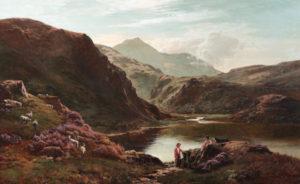 'Loch Scavaig, Isle of Skye'