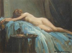 'The Artist's Model'