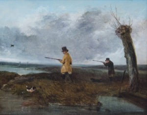 'Shooting Duck'