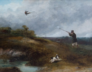 'Shooting Pheasant'