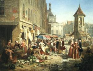 'A Parisian Marketplace'