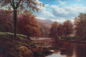 'On the Wharfe Bolton Woods'