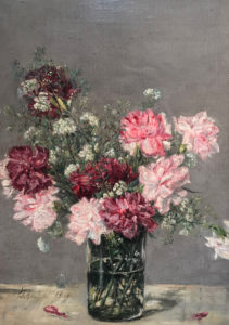 Carnations and a Bridal Spray